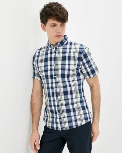 Синяя рубашка с короткими рукавами Lee Cooper