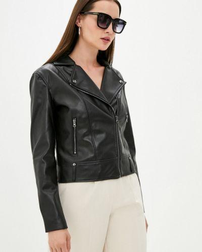 Кожаная куртка - черная Love Republic
