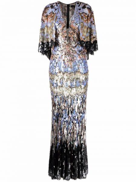 Czarna sukienka tiulowa Jenny Packham