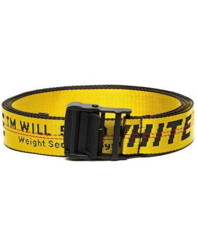 Żółty pasek Off-white