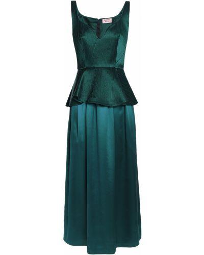 Шелковое платье миди Lanvin