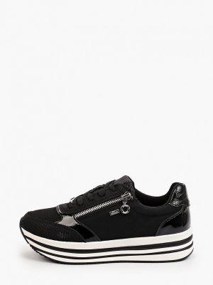 Черные резиновые кроссовки S.oliver