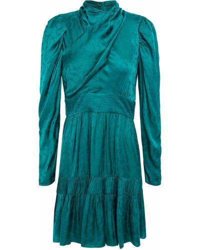 Платье мини атласное Sandro
