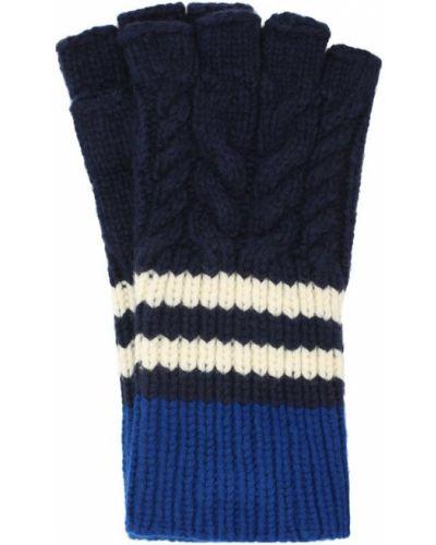 Кашемировые перчатки вязаные Burberry