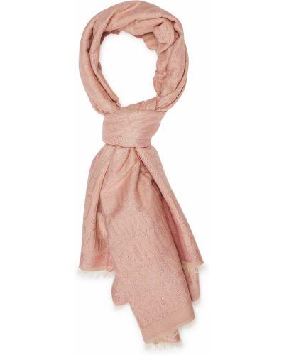 Różowa szal Moschino