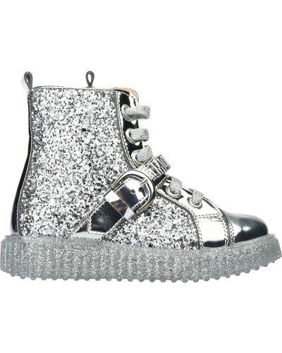 Ботинки текстильные Moschino