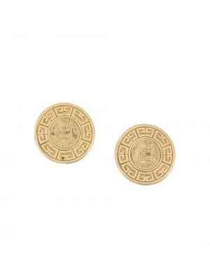 Золотые серьги Givenchy Pre-owned