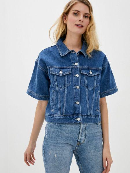 Синяя джинсовая куртка Adl