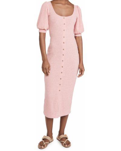 Платье с декольте с подкладкой с манжетами Saylor
