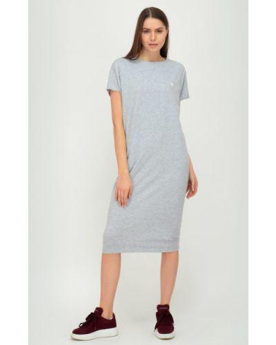 Трикотажное платье миди Viserdi