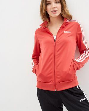 Толстовка красный Adidas