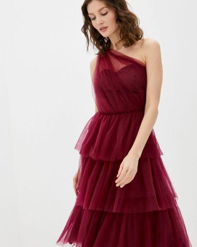 Красное вечернее платье Chi Chi London