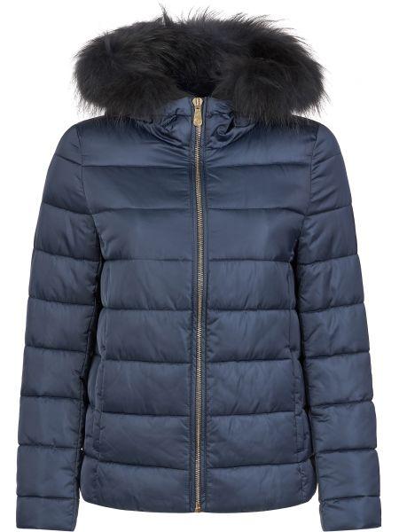 Куртка из полиэстера - синяя Trussardi Jeans