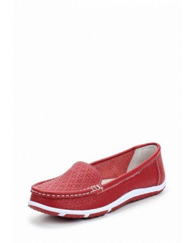 Красные мокасины Zenden Comfort
