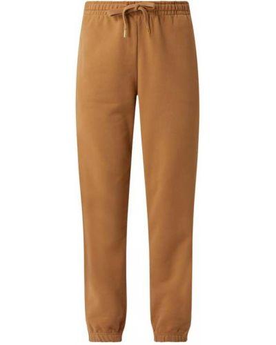 Spodnie dresowe bawełniane - brązowe Rich & Royal