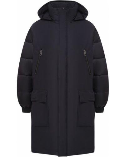 Куртка с капюшоном черная на молнии Odri