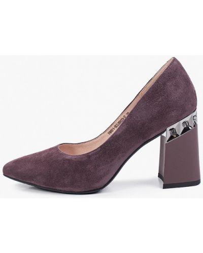 Коричневые зимние туфли Covani