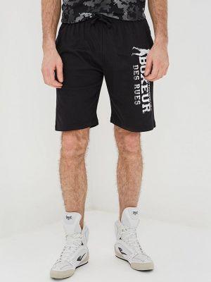 Черные шорты Boxeur Des Rues