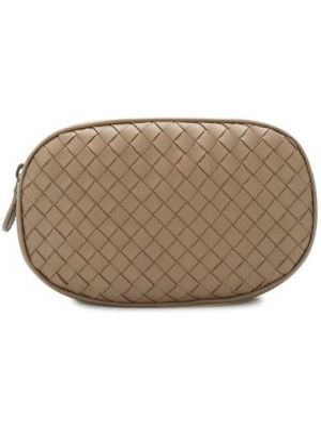 Кожаная сумка поясная Bottega Veneta