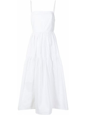 Biała sukienka bawełniana Ciao Lucia