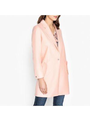 Длинное пальто на кнопках с воротником Maison Scotch