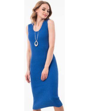 Платье платье-сарафан синее Wisell