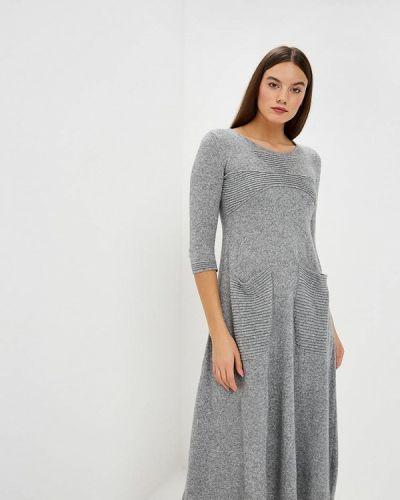 Платье осеннее прямое Brusnika