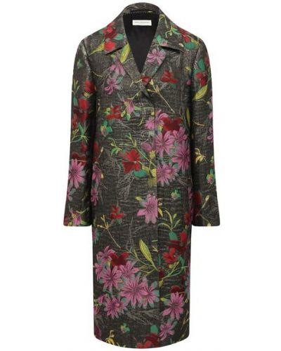 Акриловое пальто с подкладкой Dries Van Noten