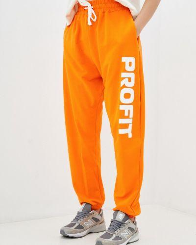 Спортивные брюки - оранжевые Profit