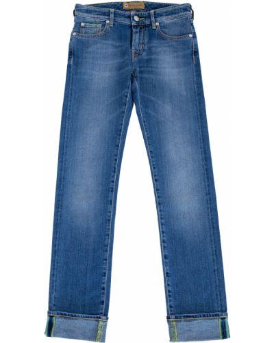 Прямые джинсы классические с заклепками Jacob Cohen