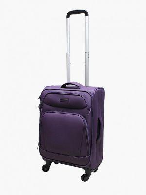 Фиолетовый чемодан Edmins