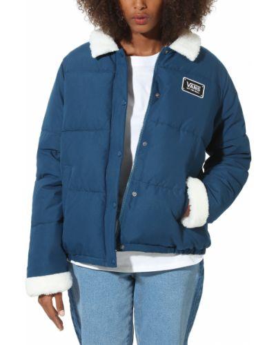 Куртка с карманами синий Vans