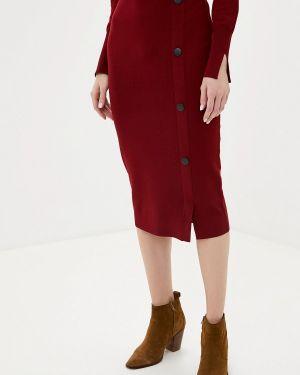 Облегающее платье бордовый красный Gerry Weber