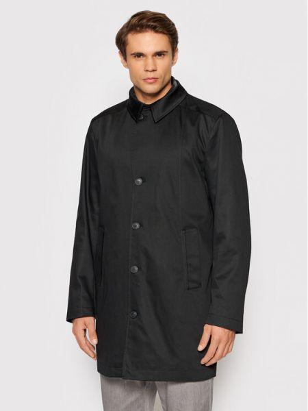 Płaszcz - czarny Selected Homme