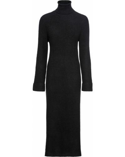 Вязаное платье с разрезами по бокам с разрезом Bonprix