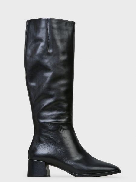 Кожаные сапоги - черные Bruno Premi