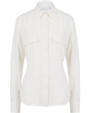 Рубашка с карманами приталенная Calvin Klein