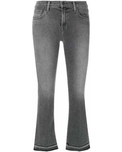 Расклешенные джинсы укороченные буткат J Brand