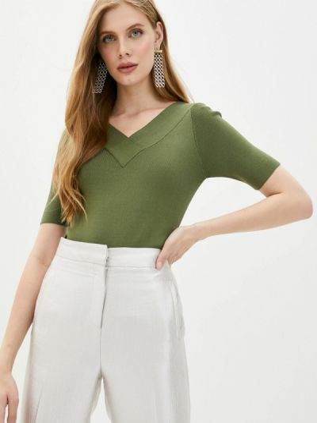 Зеленый пуловер Sweewe