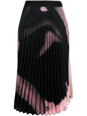 С завышенной талией белая плиссированная юбка Off-white