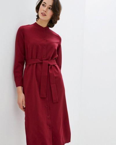 Базовое красное платье-рубашка Base Forms