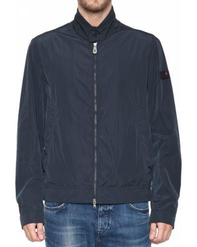 Синяя куртка из полиэстера Peuterey
