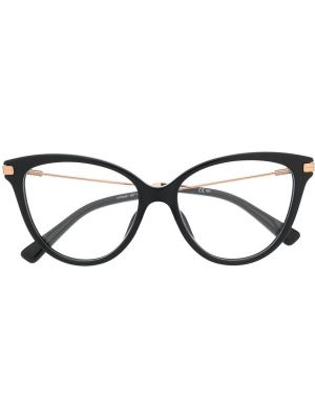 Очки кошачий глаз хаки Moschino Eyewear