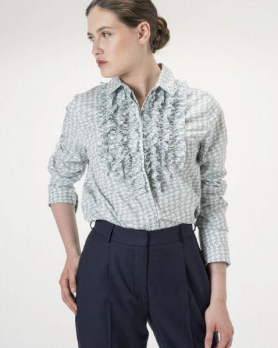 Рубашка с длинным рукавом бирюзовый Белка