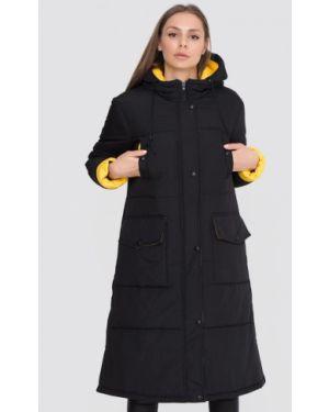 Теплая черная куртка Sfn