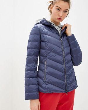Куртка осенняя синий Ea7