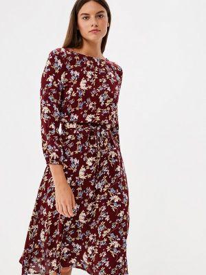 Платье бордовый красный Po Pogode