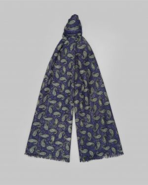 Повседневный с орнаментом мягкий шерстяной шарф Henderson