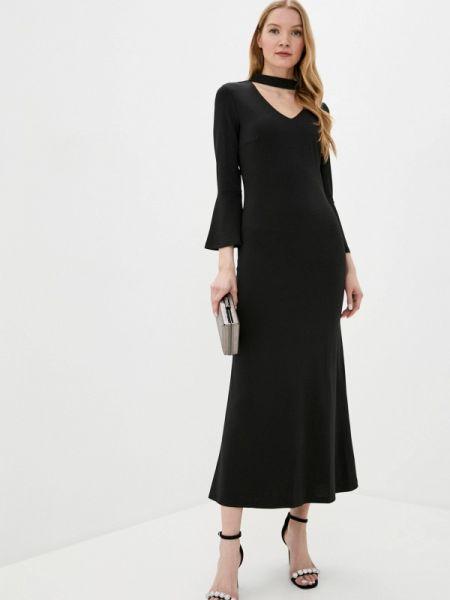 Вечернее платье на тонких бретелях черное Nothing But Love