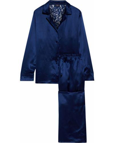 Сатиновая пижама на шпильке на шнуровке Cosabella